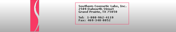 Southern Cosmetic Labs, Dallas Texas